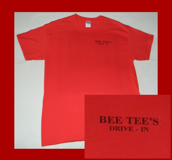 Bee Tees Drive In T-Shirt Front